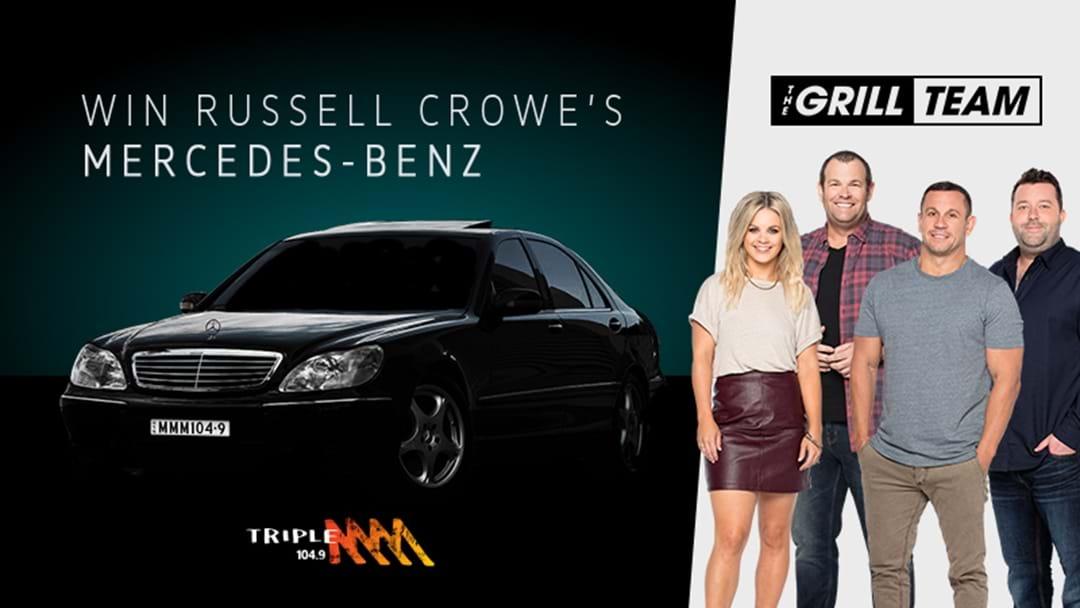 Win Russell Crowe's Mercedes-Benz