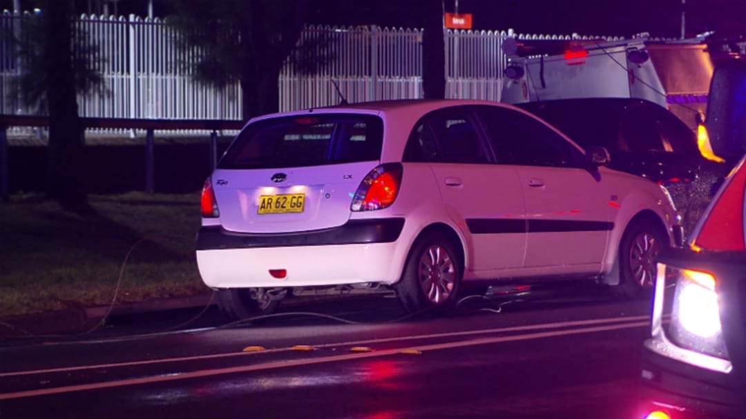 WATCH: Powerlines Trap Drivers In Cars