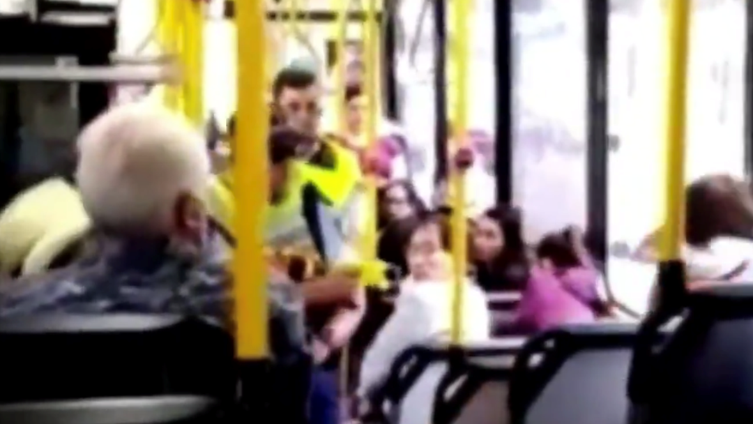 Sydney Bus Passenger Films Man Being Tasered By Police After Alleged Assault