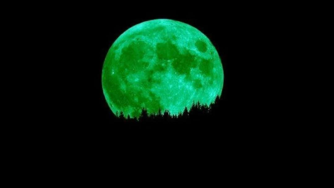 No, The Moon Isn't Going To Be Green Tonight