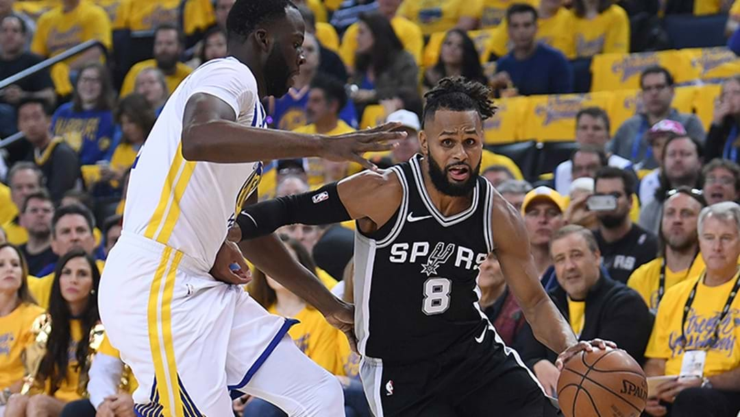 Warriors Beat Mills' Heavy-Hearted Spurs