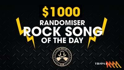 Triple M's $1,000 Randomiser Rock Song