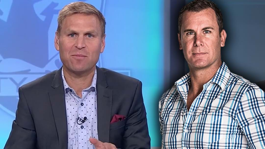 Wayne Carey Responds To A Dig From Kane Cornes