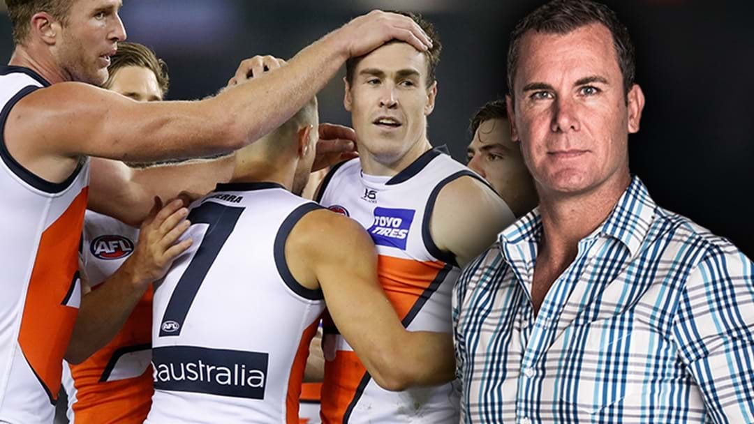 "Wayne Carey: GWS Won't Win A Final Playing ""Pretty Football"""
