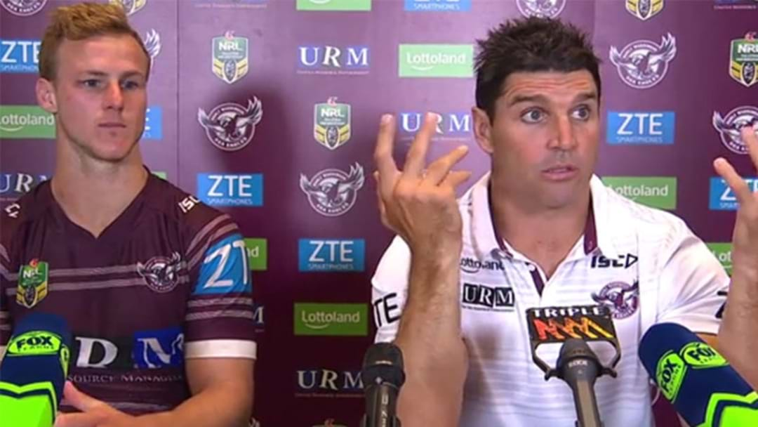 LISTEN | Trent Barrett and Daly Cherry-Evans' Fascinating Press Conference