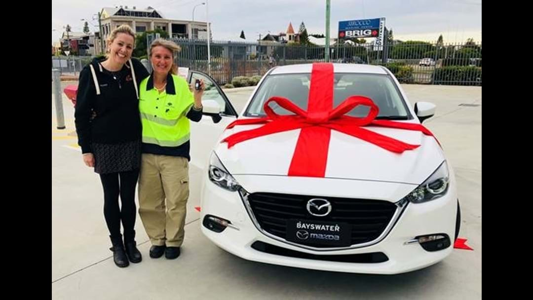 We Just Gave Someone From Shoalwater A Brand New Mazda!