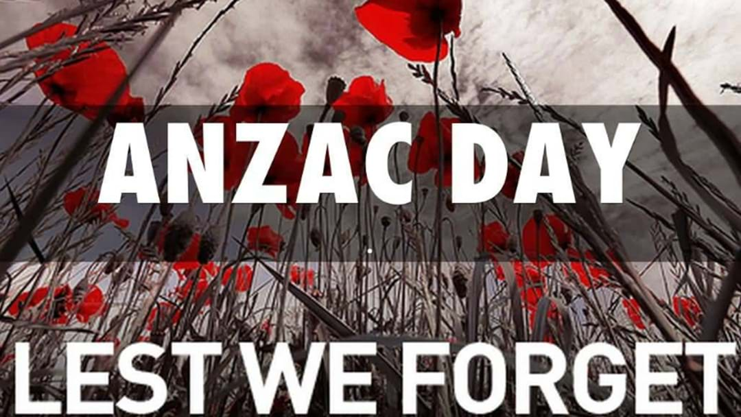 The A-Z Of Where To Pay Tribute This ANZAC Day