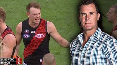 "Wayne Carey Points Out Brendon Goddard's ""Sulking"""