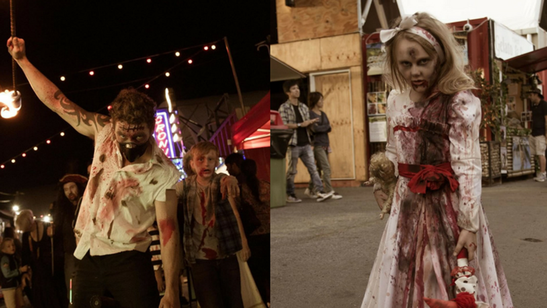 A Ridiculously Scary Zombie Walk Is Happening In Helensvale This Weekend