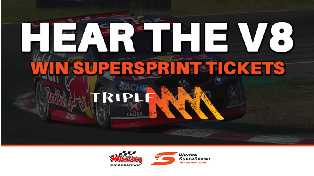 Listen out for the Triple M Supercar