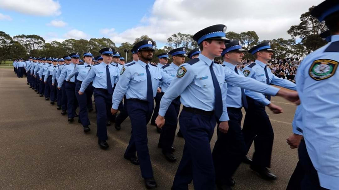 Probationary Constables Sworn into NSW Police Force Today