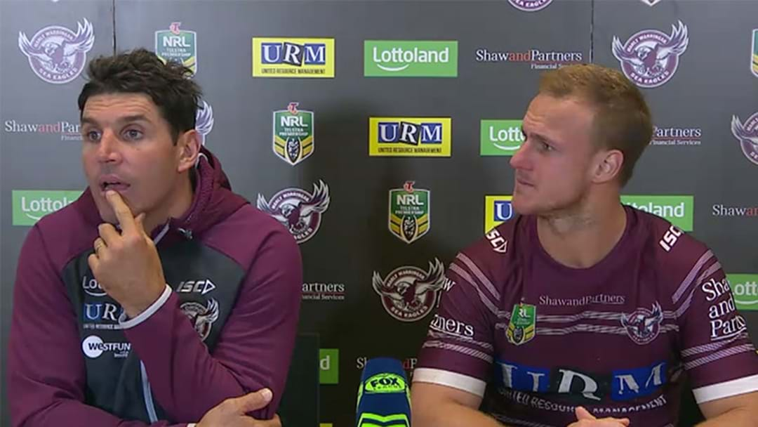 """Mickey Mouse Might Be Considered"" - Another Peculiar Trent Barrett Press Conference"