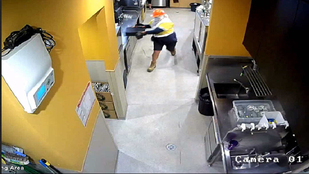 Police Call On Public To Help Identify Hardhat-Wearing Bandit