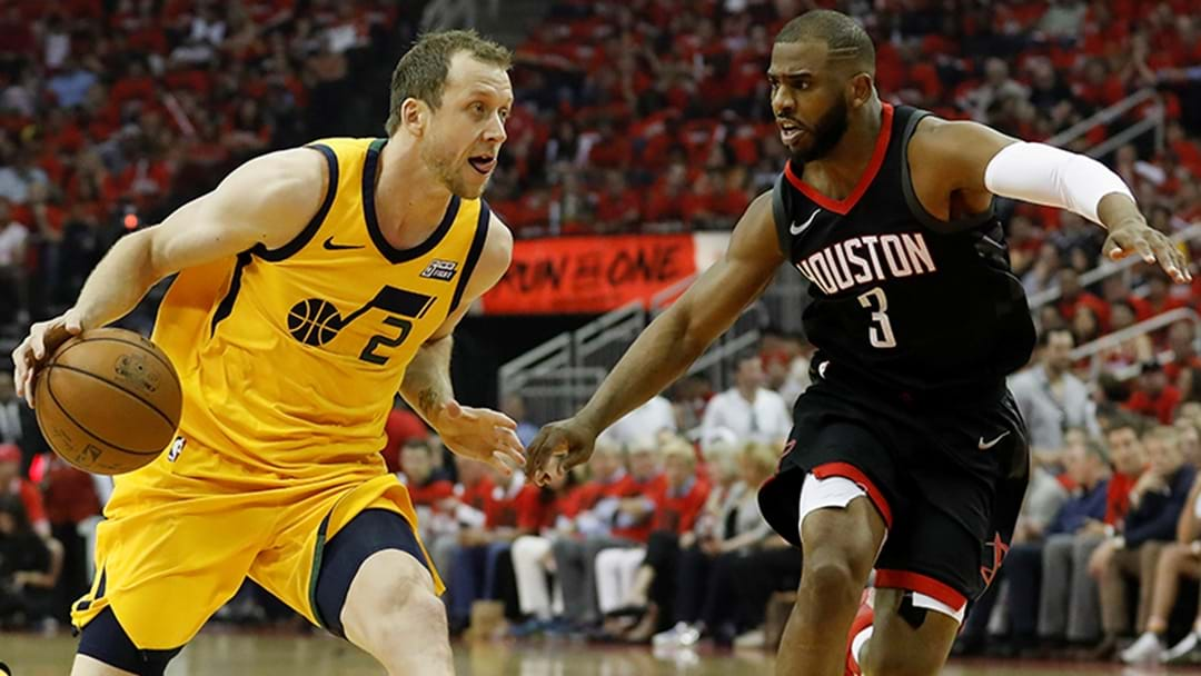 Rockets Eliminate Ingles' Jazz