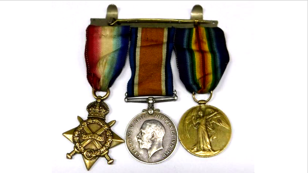 World War I Medals Found