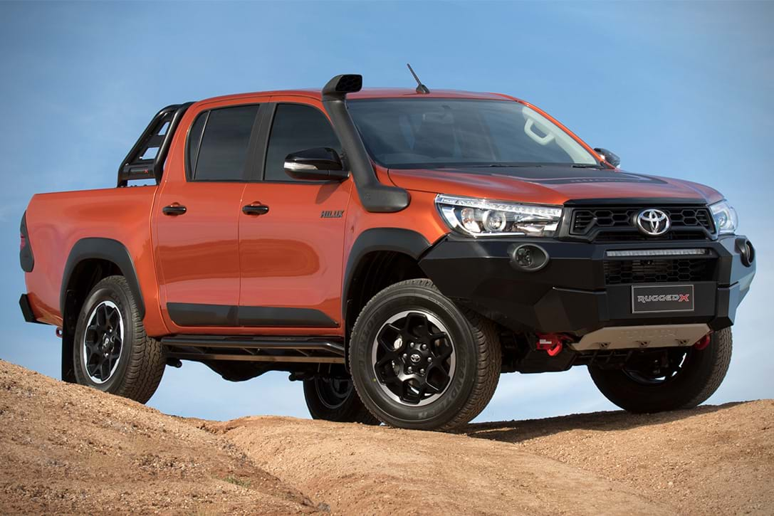 Book A Test Drive For The Toyota Hilux Range
