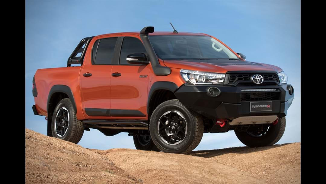 Book a test drive for the Toyota Hilux Range!