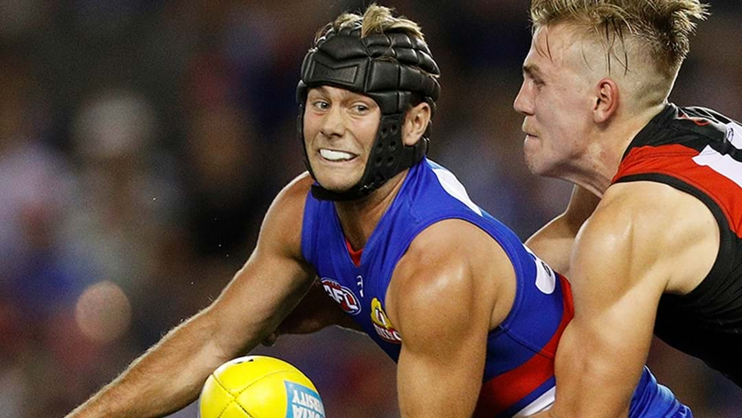 The Western Bulldogs Have Provided An Injury Update On Caleb Daniel's Helmet