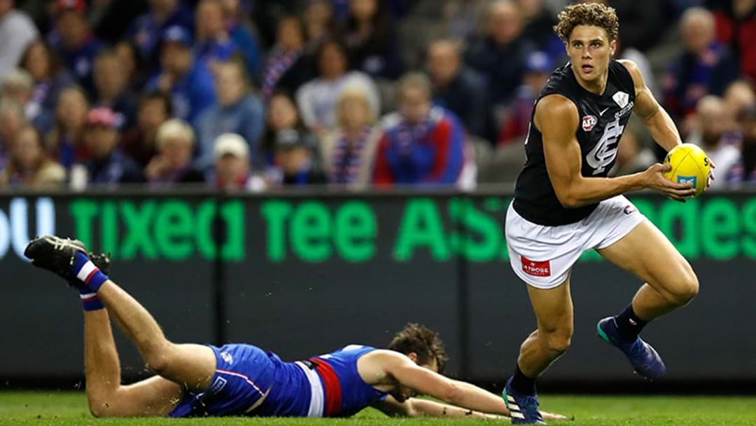 Charlie Curnow Reportedly Set To Miss Adelaide Game With Ankle Injury