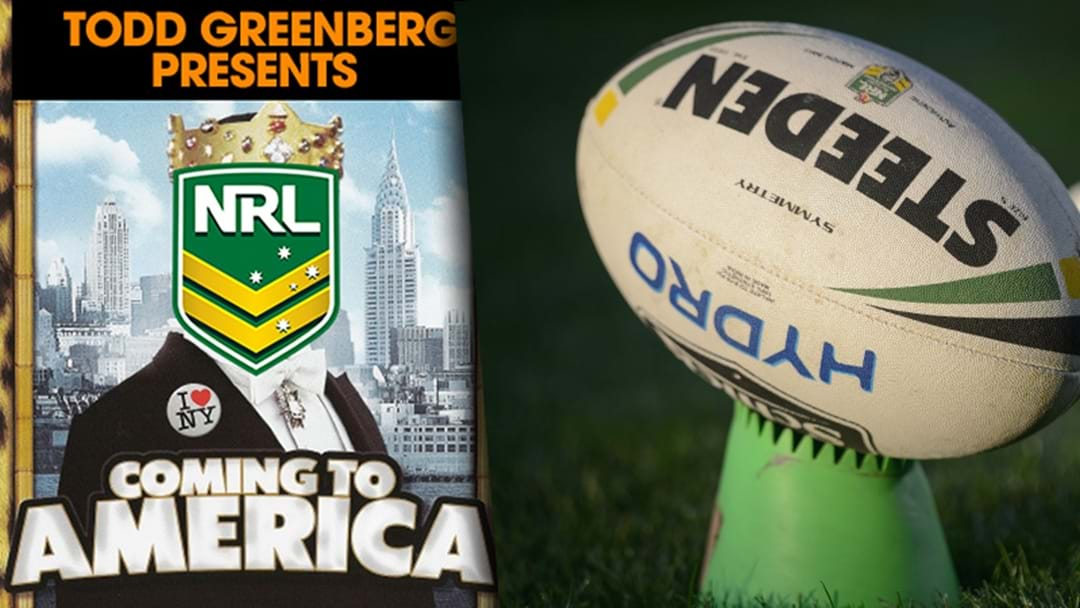 Coming To America | The NRL Set For Hollywood Style Launch In 2019
