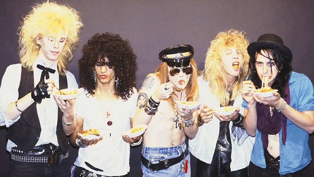 Guns N' Roses Are Doing A Massive Reissue Of Appetite For Destruction