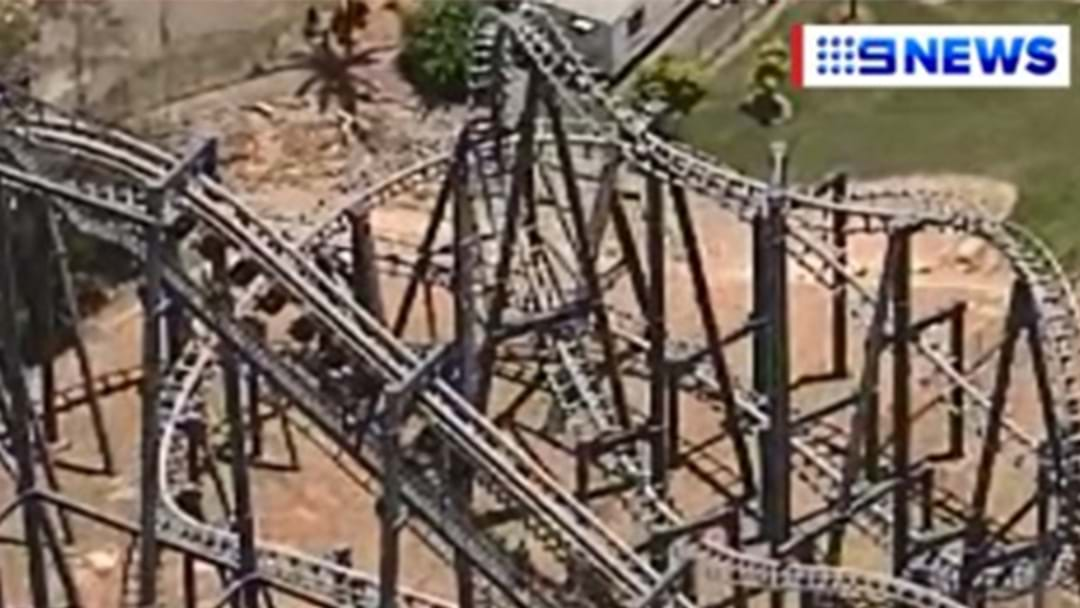 Dozens Trapped On Rollercoaster At Movie World