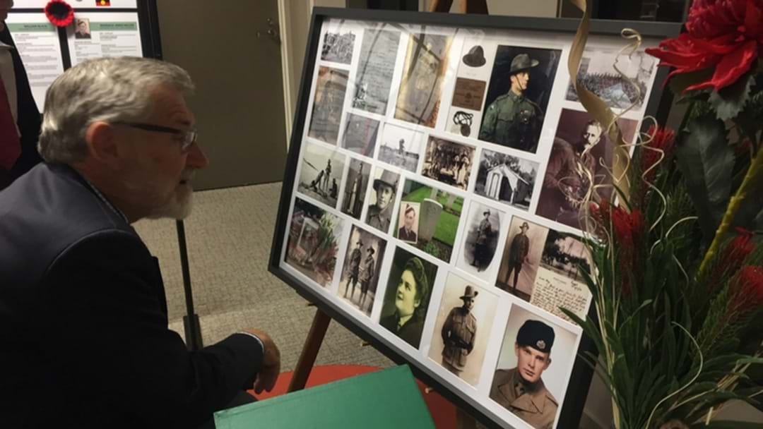 Leeton Shire Library's ANZAC Display Is Currently On Show