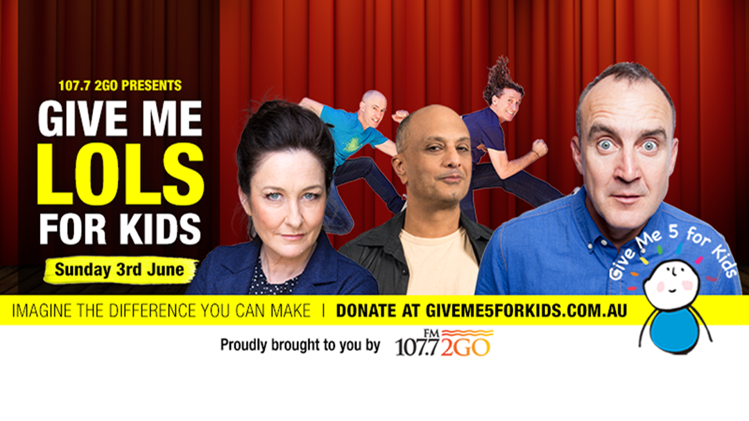 107.7 2GO Presents Give Me LOLS For Kids