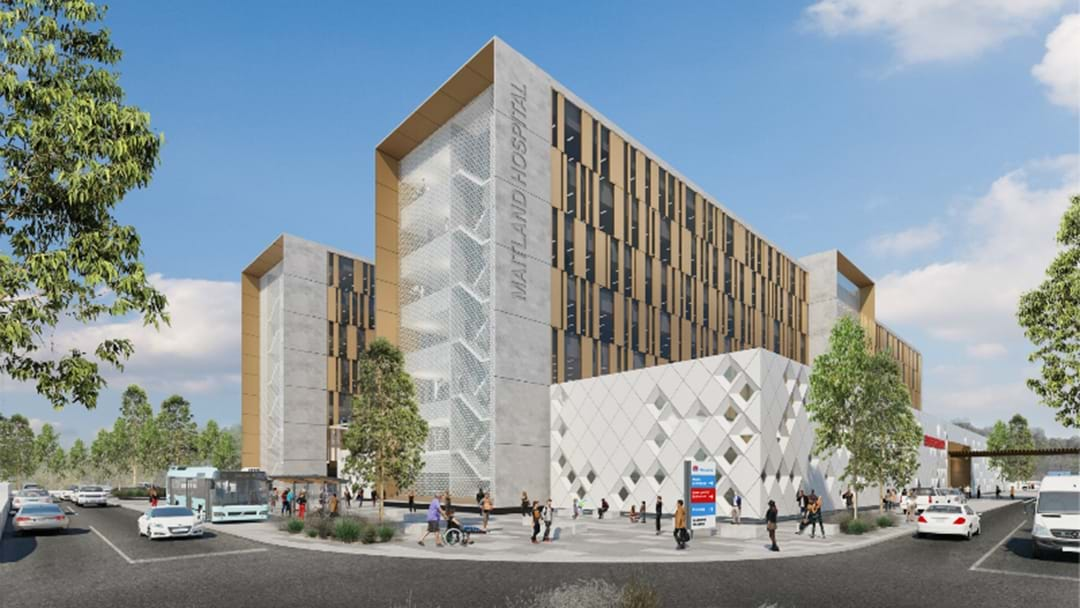 First Look At New Maitland Hospital