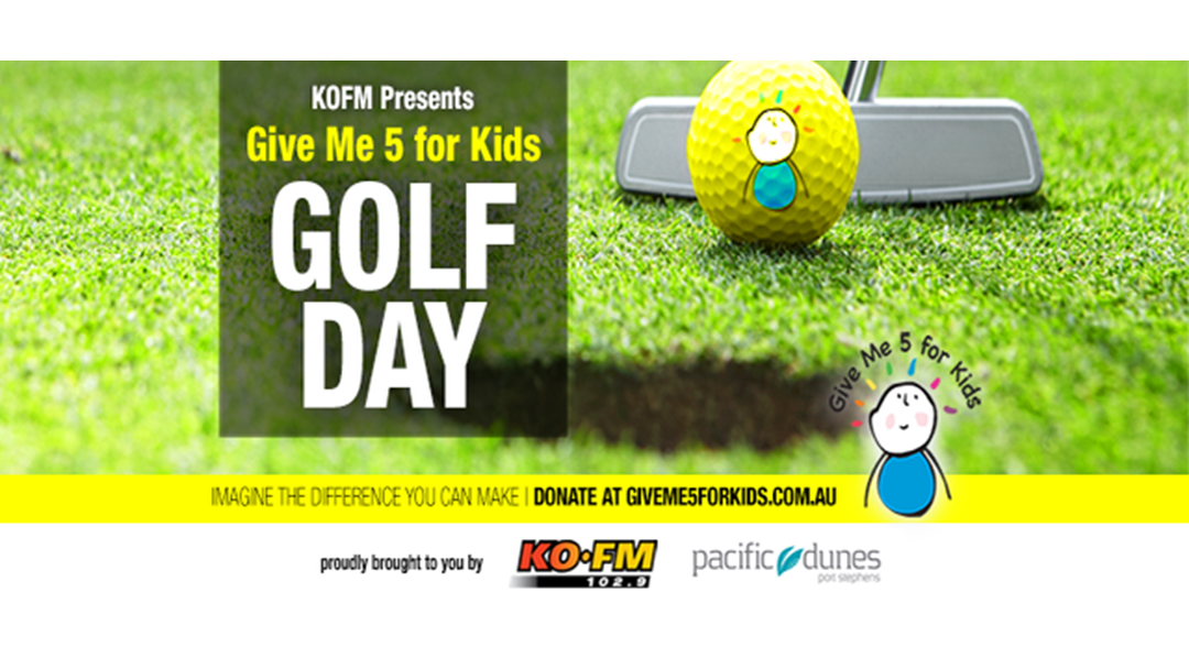 KOFM's Give Me 5 For Kids Golf Day