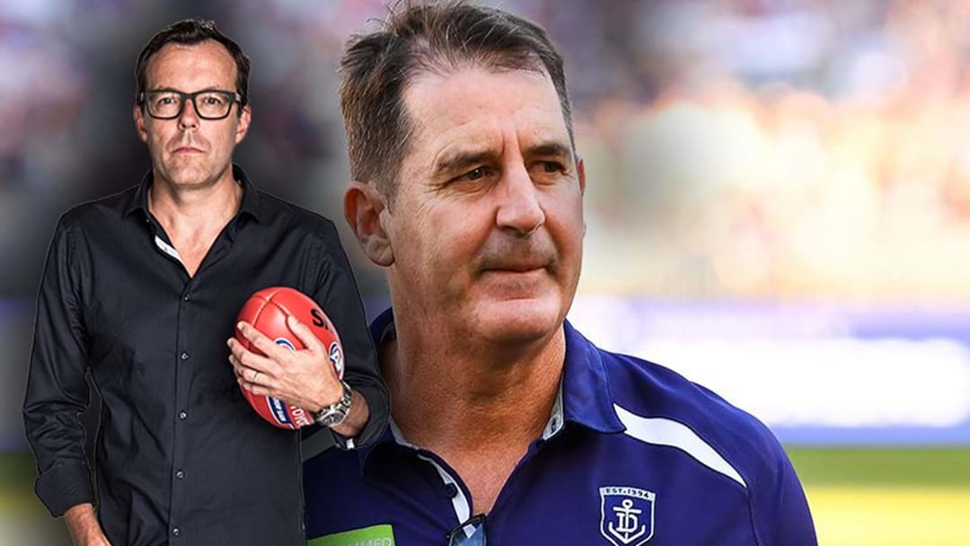 "Damian Barrett Says That Freo's Ross Lyon Presser Was ""Late And Unconvincing"""