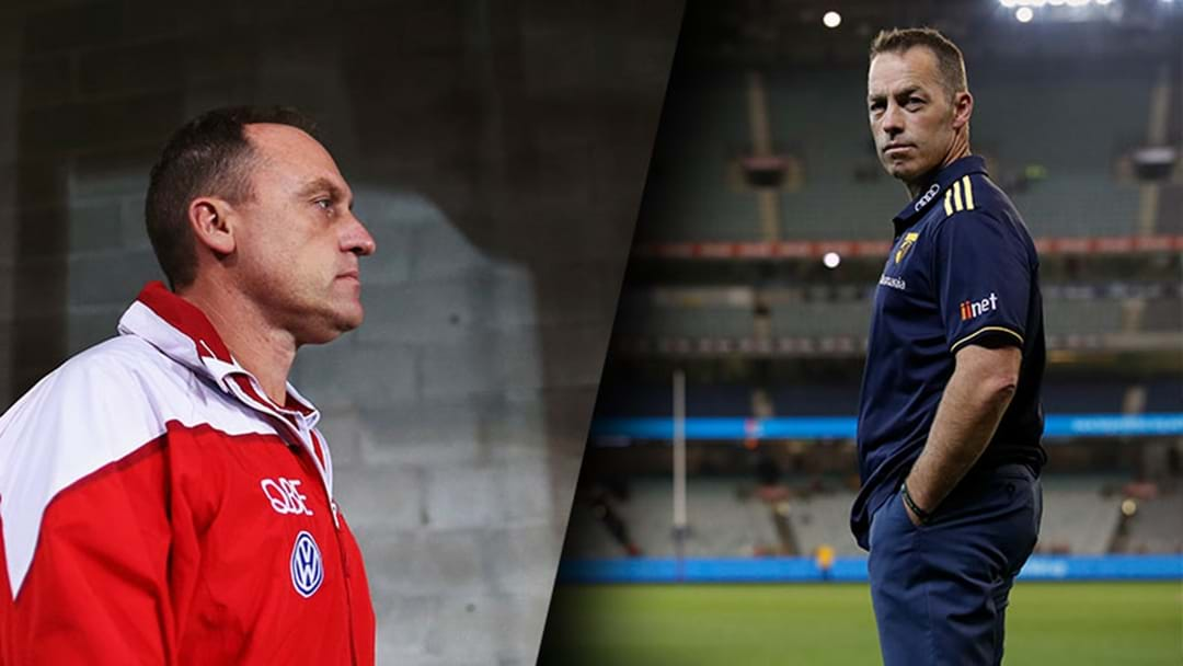 "John Longmire Hits Back At Alastair Clarkson After ""Blue Murder"" Comments"