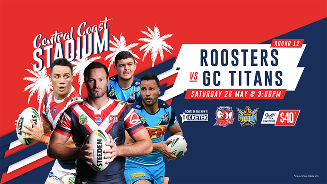 NRL Is Coming To The Central Coast This Weekend!