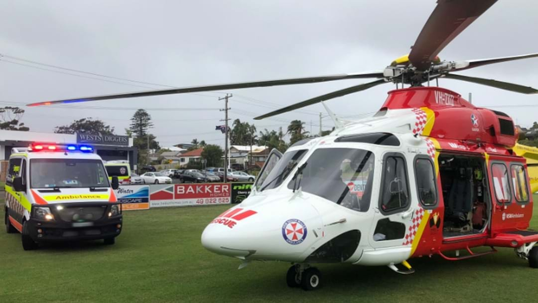 Man Collapses At Nelson Bay Bus Stop, Rushed To John Hunter