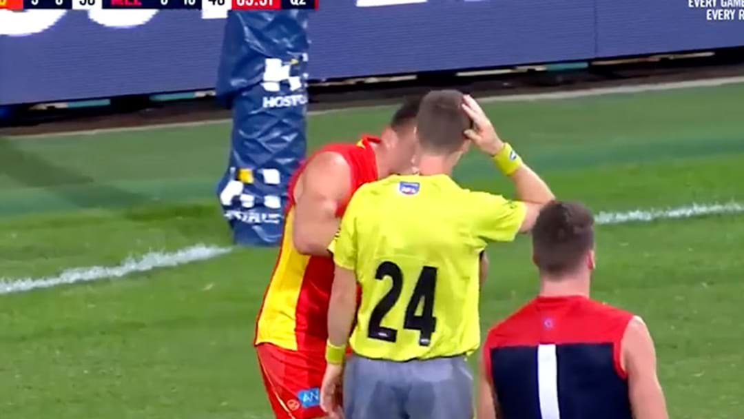 Steven May Cleared Of Deliberate Umpire Contact