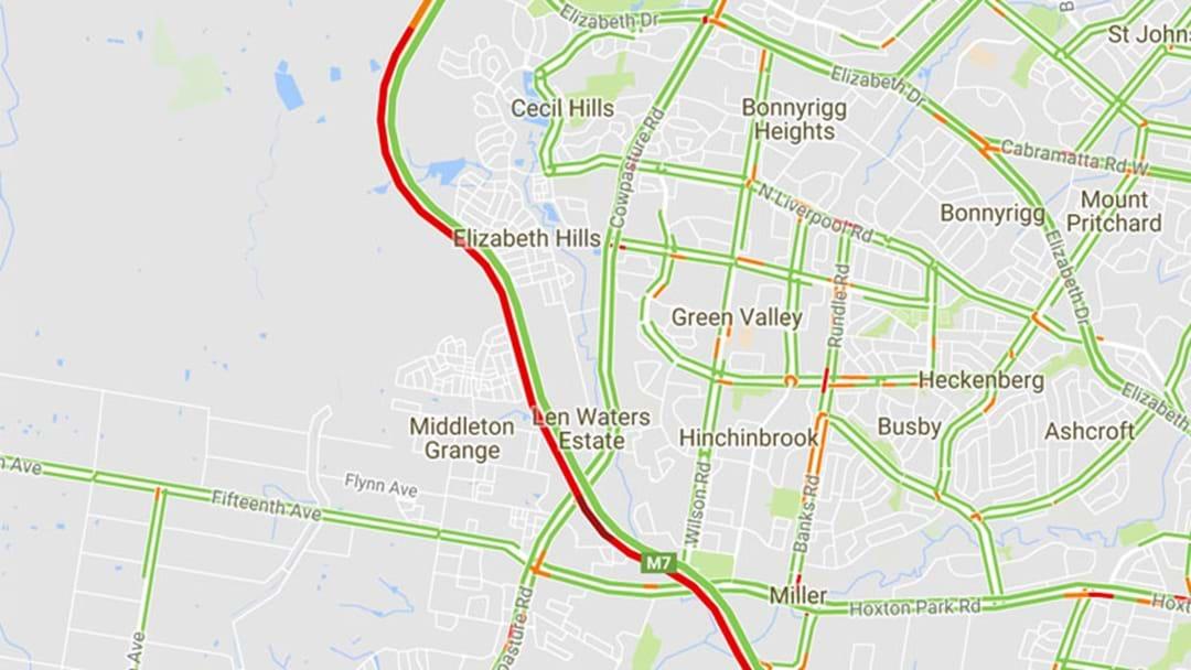 Traffic Nightmare: 10km Delays On The M7