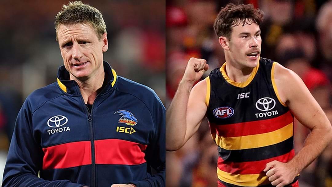 LISTEN | Brett Burton Explains The Latest News From Adelaide's Injury Crisis