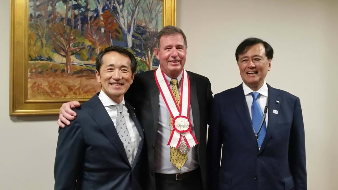Honour For Bunbury Mayor Gary Brennan
