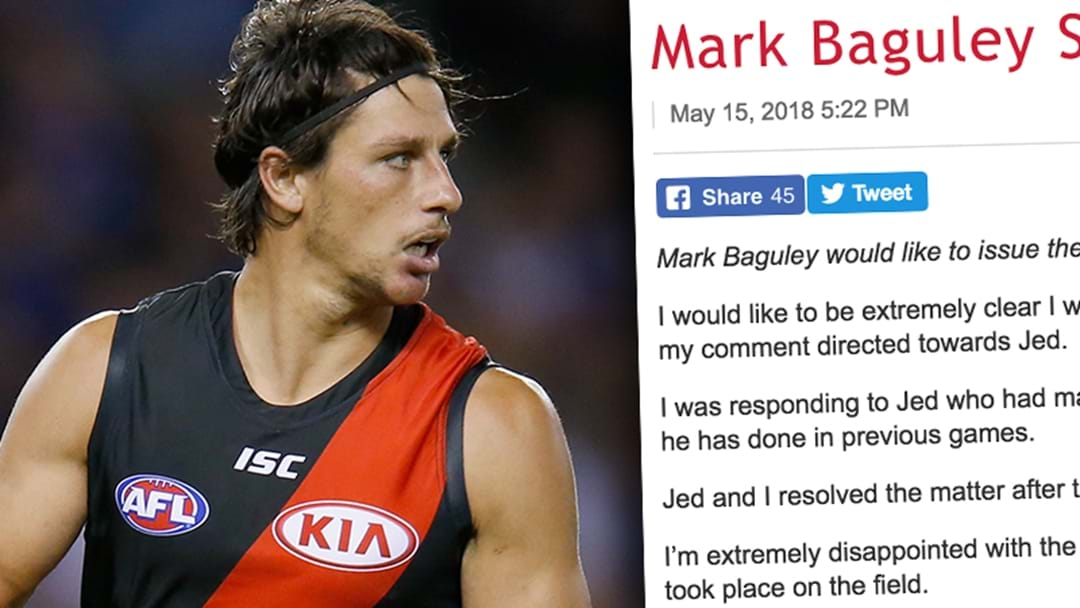 Mark Baguley Releases Statement On The Jed Lamb Sledge