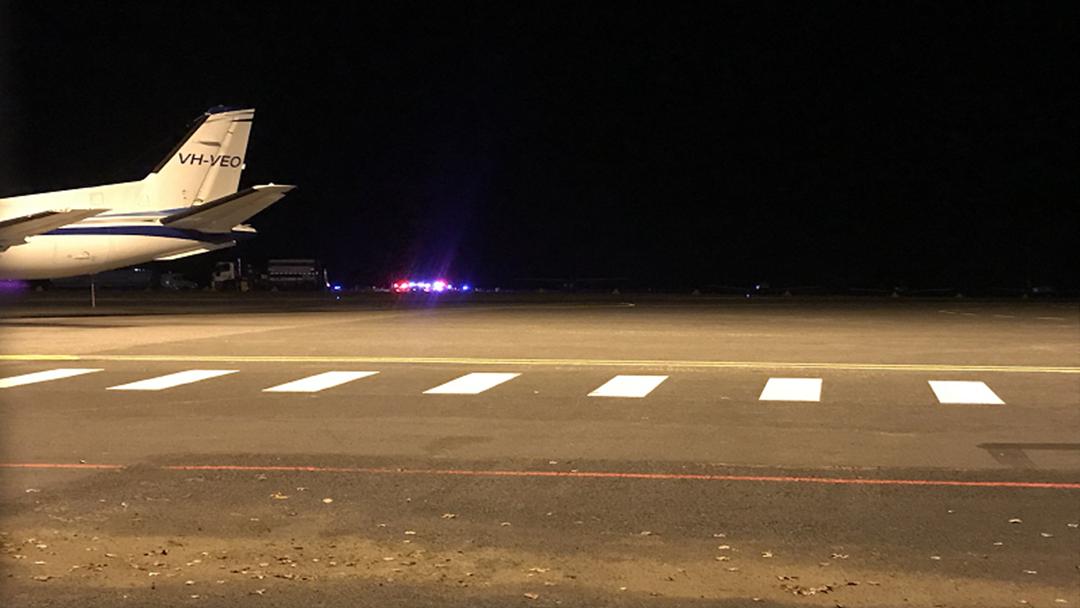 BREAKING: Light Plane Crash at Orange Airport