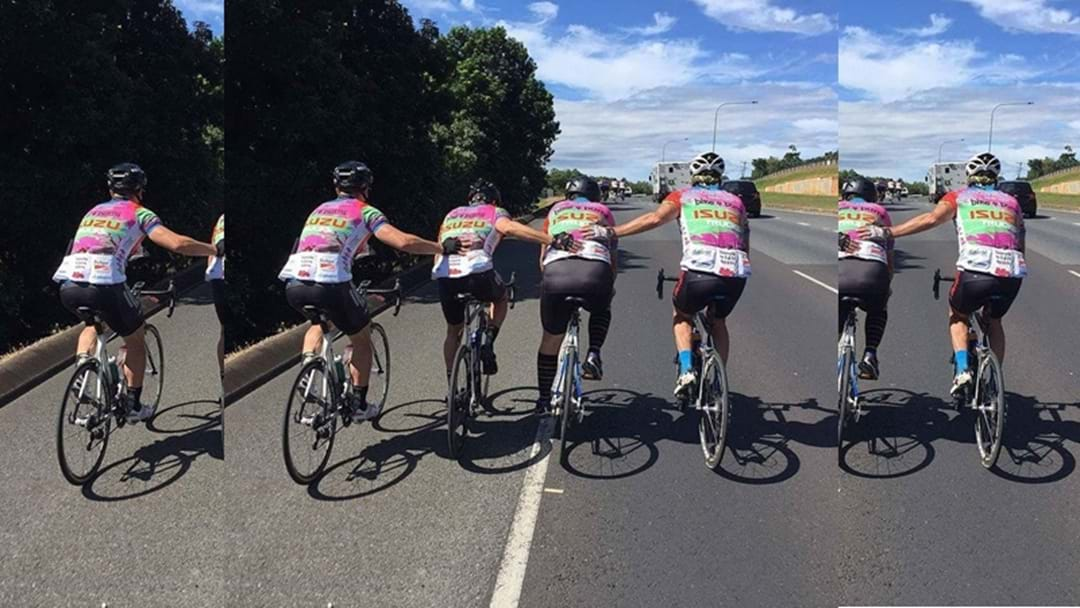 Toowoomba Firefighters Pedal for a Cause