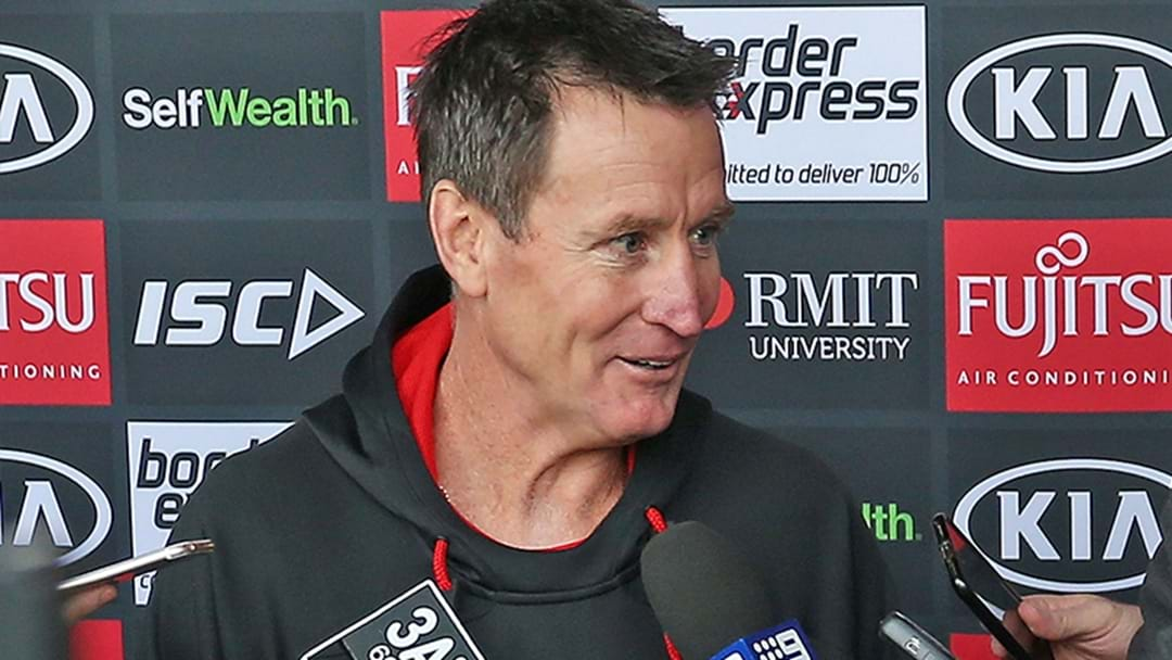 LISTEN | Channel 9's Ayrton Woolley Explains His Press Conference Run-In With John Worsfold