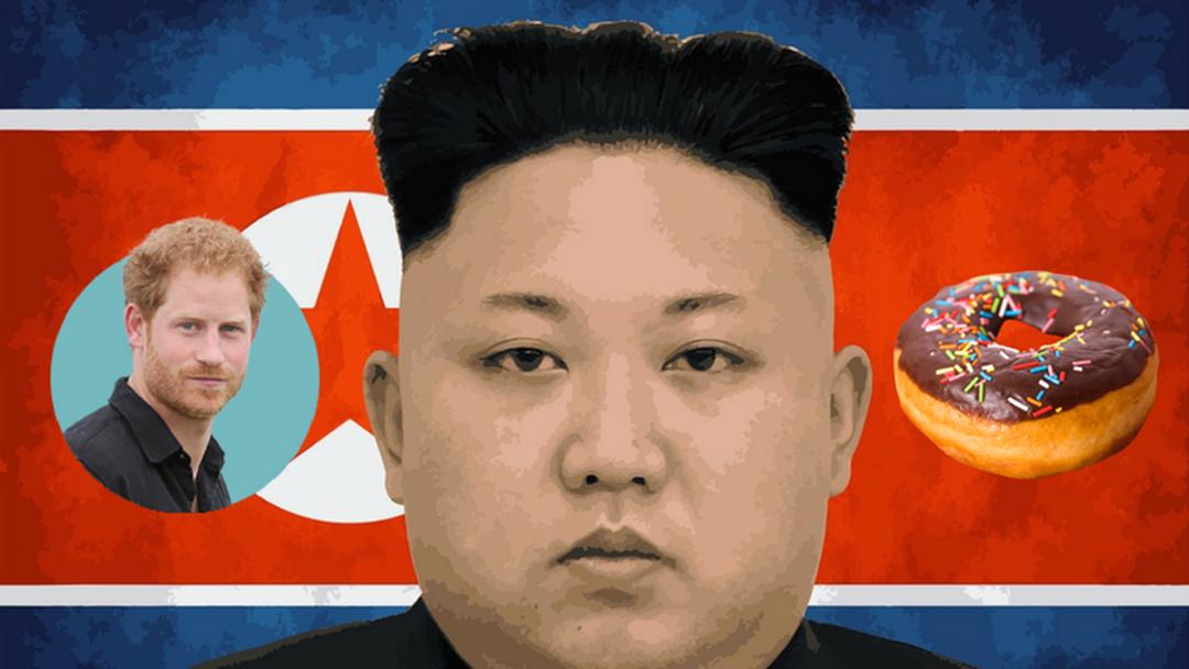 Donuts & Royals & Kim Jong-Un... OH MY!