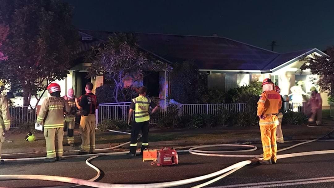 Fire Destroys Coffs Harbour Unit