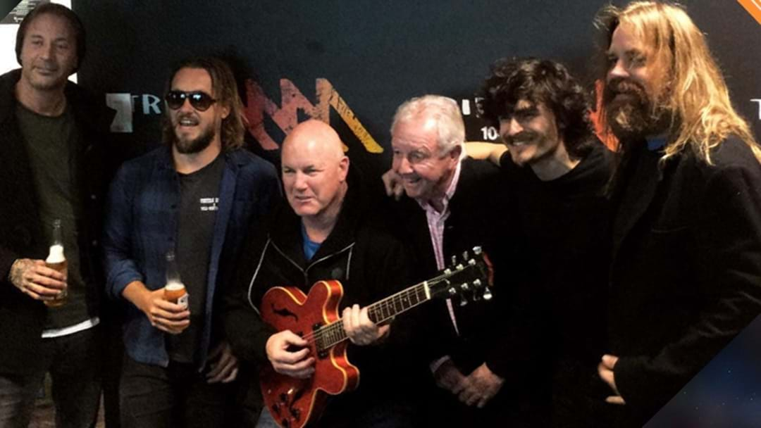 LISTEN | Thirsty Merc Perform 'In The Summertime' On Triple M's Rush Hour