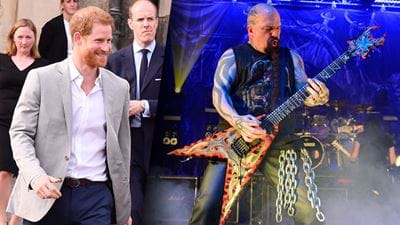 It Turns Out Prince Harry Is Actually A Big Metal Fan
