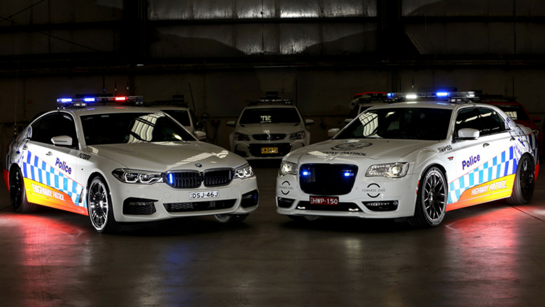 NSW Police Reveal New Highway Patrol Fleet