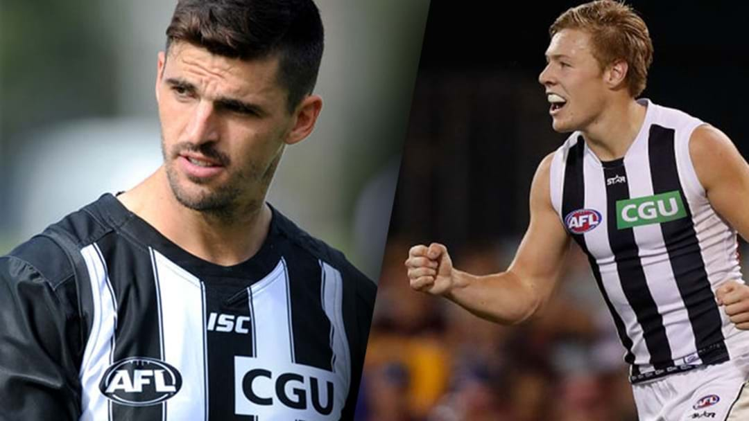 Jeremy Howe Says The Pies Leadership Group Had To Give Jordan de Goey Some Home Truths