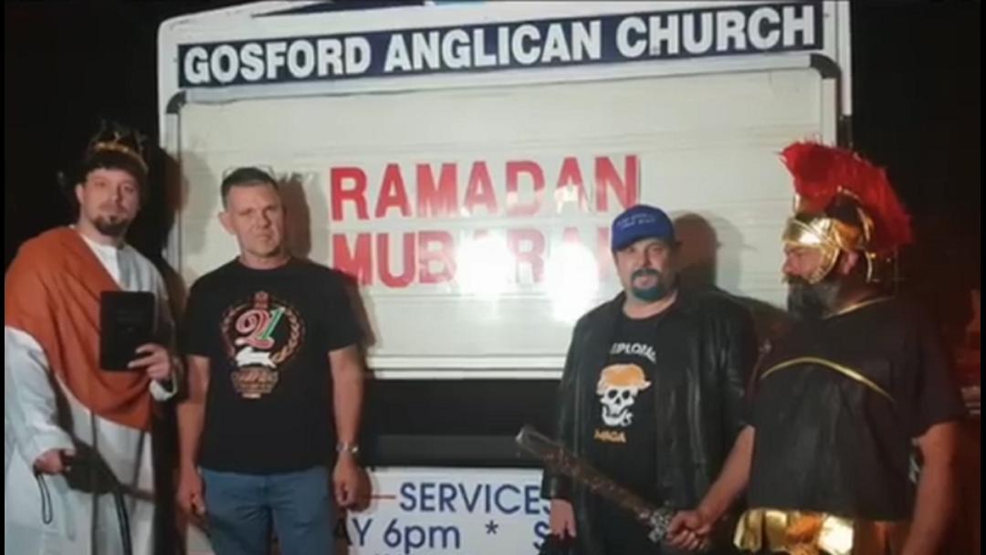 """""""Neo Nazis"""" Allegedly Intimidate Gosford Church"""