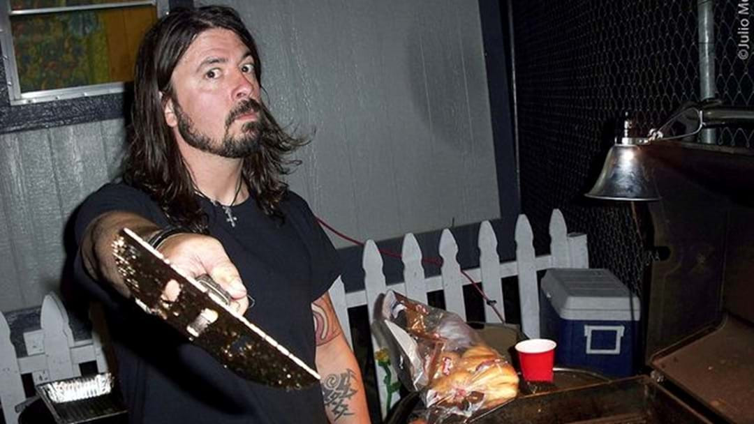 Dave Grohl Missed The Billboard Awards To Judge A BBQ Competition